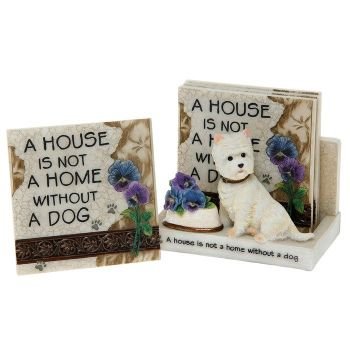 3D Classic Coaster Set - Dogs