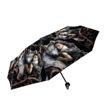 Soul Bond Compact/Telescopic Umbrella - Anne Stokes