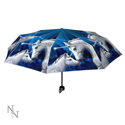 Sacred Love Compact/Telescopic Umbrella - Lisa Parker