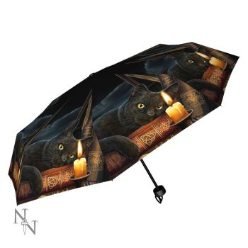 Witching Hour Compact/Telescopic Umbrella - Lisa Parker