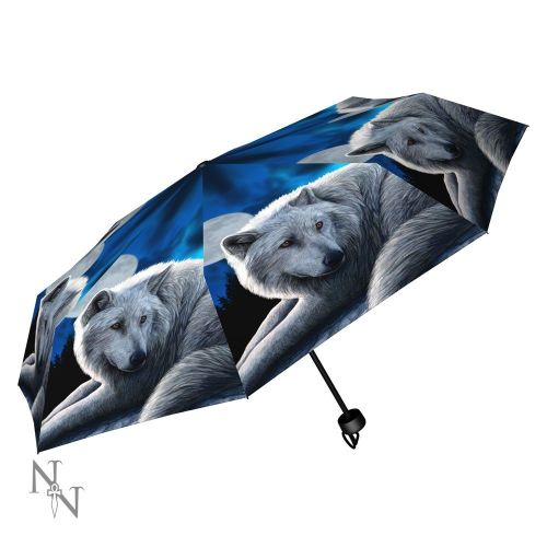 Guardian of the North Compact/Telescopic Umbrella - Lisa Parker