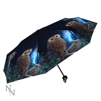 Way of the Witch Compact/Telescopic Umbrella - Lisa Parker