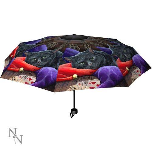 Jester Compact/Telescopic Umbrella - Lisa Parker