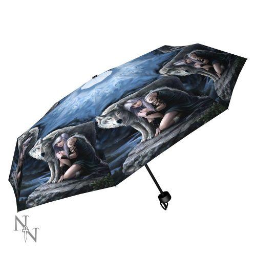 Protector Compact/Telescopic Umbrella - Anne Stokes