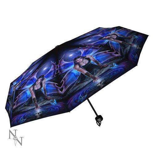 Immortal Flight Compact/Telescopic Umbrella - Anne Stokes