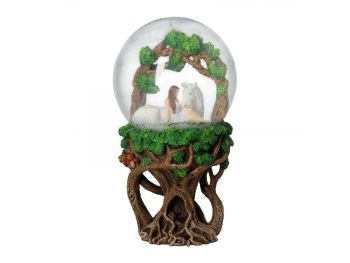 Pure Heart Snow Globe - Anne Stokes
