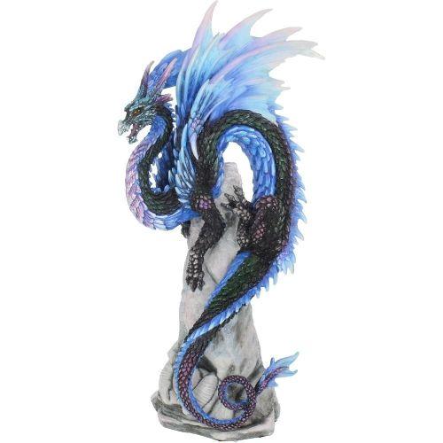 Sapphire Sentinel Dragon Figure - Andrew Bill - Nemesis Now