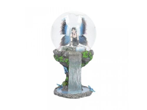 Immortal Flight Snow Globe - Anne Stokes