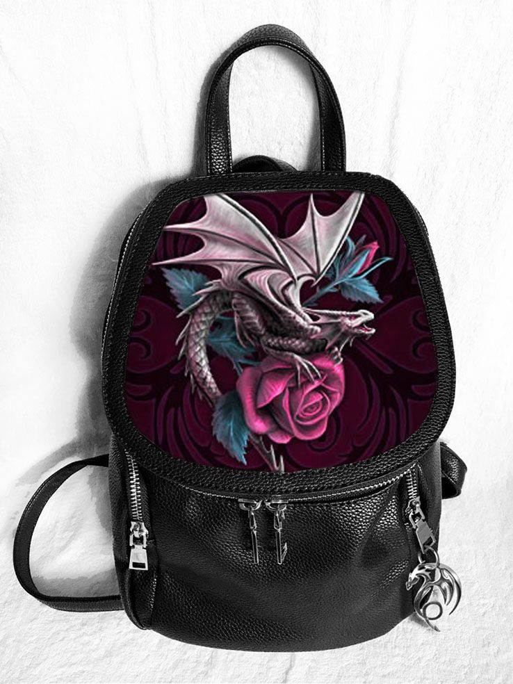 Dragon Beauty 3D Fashion Backpack - Anne Stokes