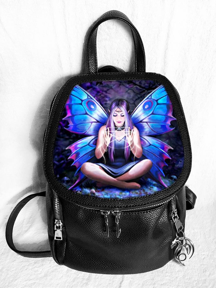 Spell Weaver 3D Fashion Backpack - Anne Stokes