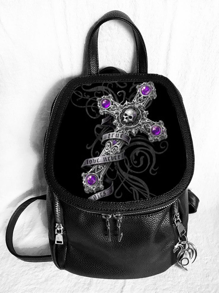 True Love Never Dies 3D Fashion Backpack - Anne Stokes