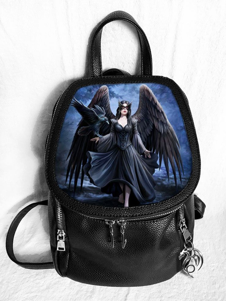 Raven 3D Fashion Backpack - Anne Stokes