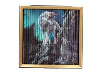 Stunning Lisa Parker Wolves Kinetic Picture - Guidance/Warriors of Winter/Snow Kisses