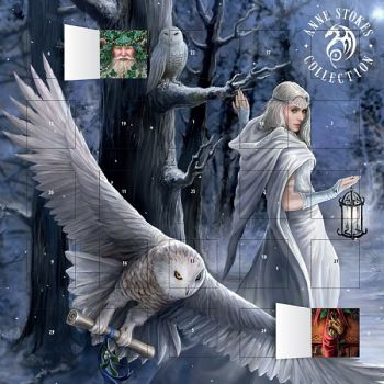 Official Anne Stokes Midnight Messenger Advent Calendar