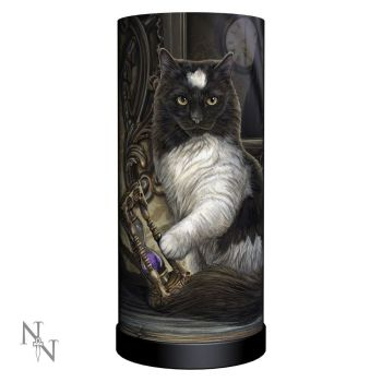 Time's Up Cat Lamp - Lisa Parker