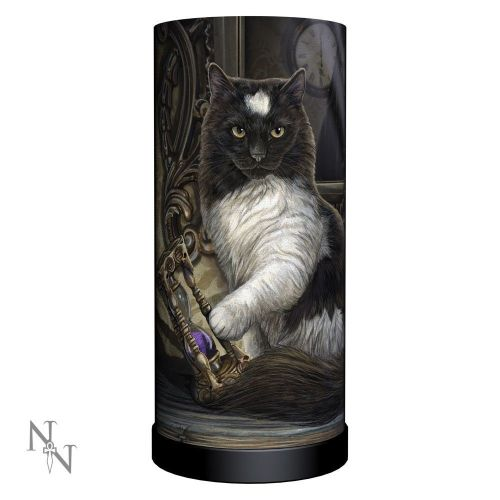 Time's Up Cat Lamp - Lisa Parker