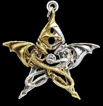 Draca Stella Pendant Necklace - Carpe Noctum - Anne Stokes