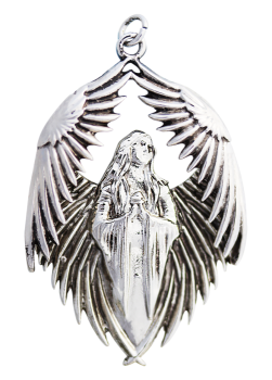 Prayer of the Fallen Pendant Necklace - Carpe Noctum - Anne Stokes