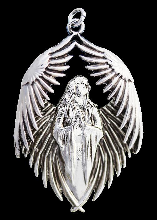 Prayer of the Fallen Pendant Necklace - Carpe Noctum - Anne Stokes