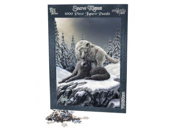 Lisa Parker 1000 Piece Jigsaw Puzzle - Snow Kisses