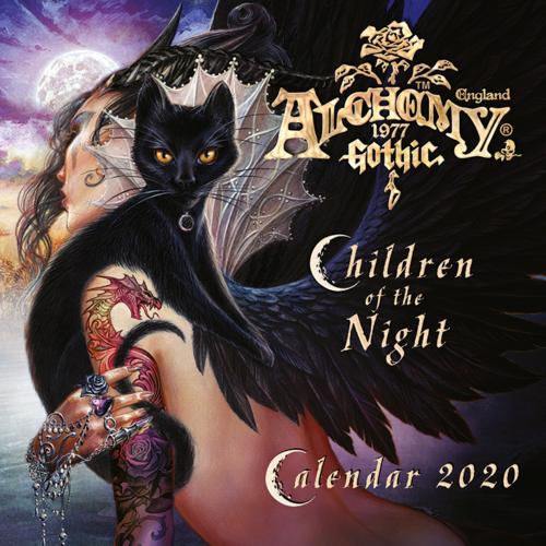 Official Alchemy 2020 Wall Calendar -Children of he Night