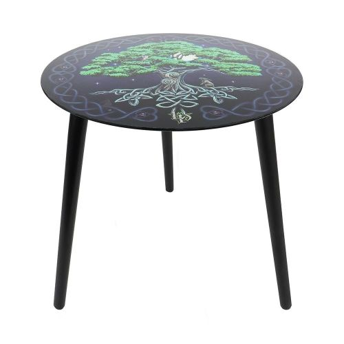 Tree of Life Glass Table - Lisa Parker