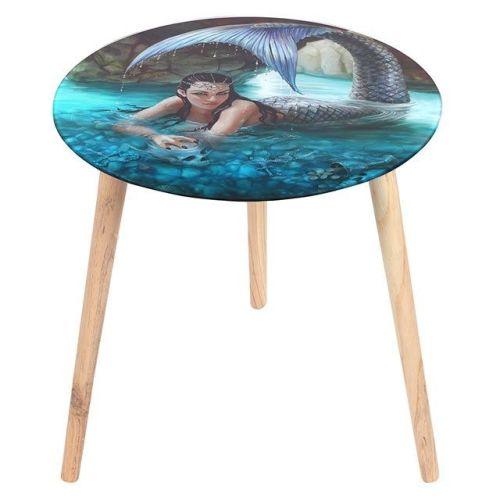 Anne Stokes Glass Table - Hidden Depths