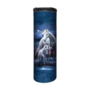 Anne Stokes Barista Style Stainless Steel Thermos Flask - Eternal Bond - Unicorn