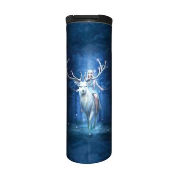 Anne Stokes Barista Style Stainless Steel Thermos Flask - Fantasy Forest