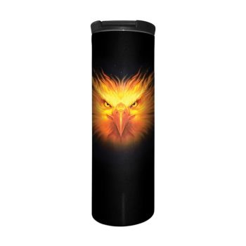 Anne Stokes Barista Style Stainless Steel Thermos Flask - Firebird
