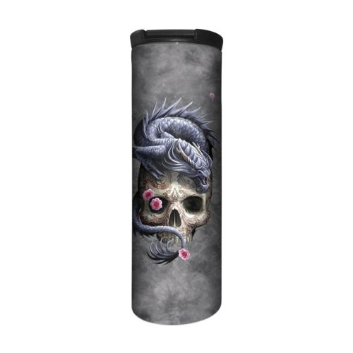 Anne Stokes Barista Style Stainless Steel Thermos Flask - Oriental Dragon