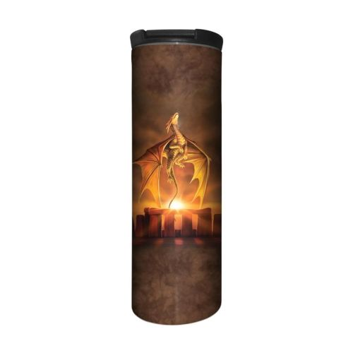 Anne Stokes Barista Style Stainless Steel Thermos Flask - Solstice - Dragon