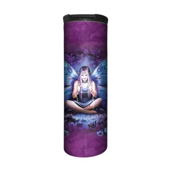Anne Stokes Barista Style Stainless Steel Thermos Flask - Spell Weaver - Fairy