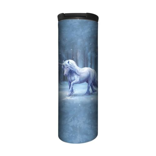 Anne Stokes Barista Style Stainless Steel Thermos Flask - Winter Wonderland