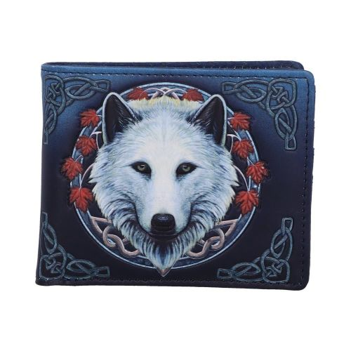 Guardian of the Fall Wolf Wallet - Lisa Parker