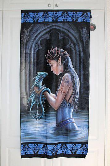 Water Dragon Towel - Anne Stokes