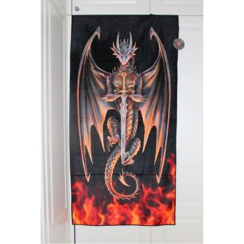 Dragon Warrior Towel - Anne Stokes