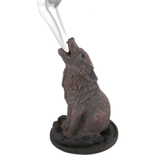 Howling Wolf Incense Cone Burner