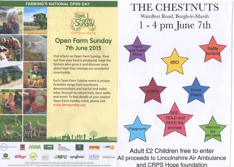 Open Farm Sunday 2