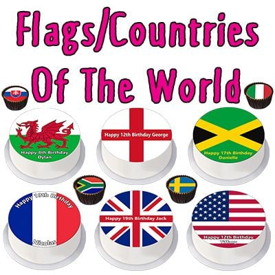 Flags/Countries Toppers