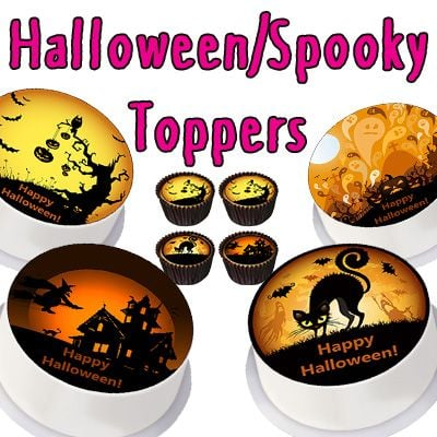 Halloween/Spooky Toppers
