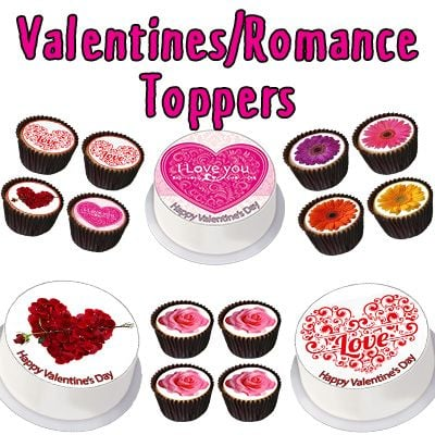Valentines/Romance Toppers