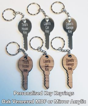 Key, 1 x Keyring
