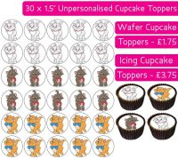 Aristocats - 30 Cupcake Toppers