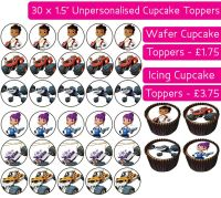 Blaze And The Monster Machines - 30 Cupcake Toppers
