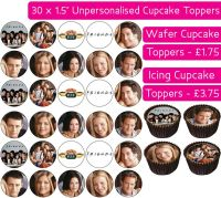 Friends - 30 Cupcake Toppers
