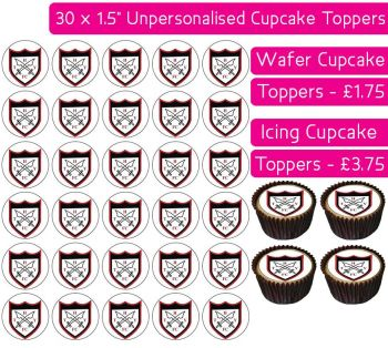 Hanwell Town Youth Football - 30 Cupcake Toppers