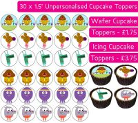 Hey Duggee - 30 Cupcake Toppers
