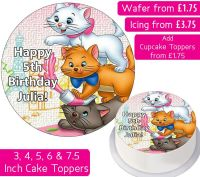 Aristocats Personalised Cake Topper