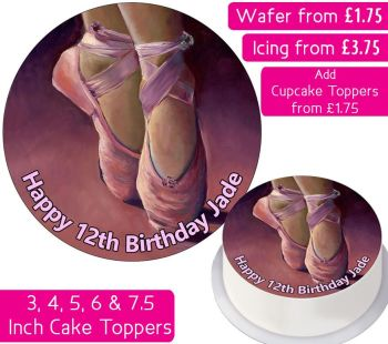 Ballet Personalised Cake Topper